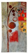 Bubble Tree - Ls55 Beach Towel by Variance Collections
