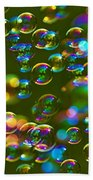 Bubbles Bubbles And More Bubbles Beach Towel