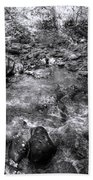 Bubbling Water Brook In The Smokies Beach Towel