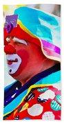Bubby The Clown Beach Towel