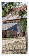 Buck Ranch Barn Beach Towel