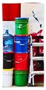 Buckets Of Color Beach Towel