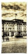 Buckingham Palace Vintage Beach Towel