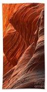 Buckskin Gulch Slot Canyon Fire Beach Towel
