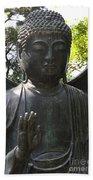 Buddha Detail Beach Sheet