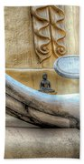 Buddha's Hand Beach Towel by Adrian Evans