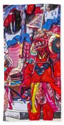 Buddhist Dancers 2 Beach Towel