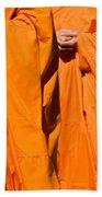Buddhist Monks 02 Beach Towel