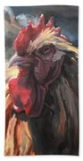 Buff Orpington Cockerel Beach Towel