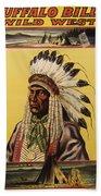 Buffalo Bills Wild West Beach Towel