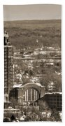 Buffalo Central Terminal Winter 2013 Beach Towel