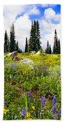 Buffalo Pass Colorado Wildflowers Beach Towel