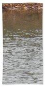 Buffleheads 4 Beach Towel