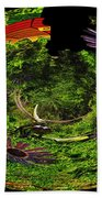 Bugs At The Zoo Daisies And Dragonfly Beach Towel