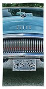 Buick Grills-hdr Beach Towel