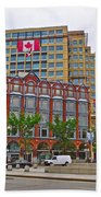 Buildings Near War Memoriall In Ottawa-on Beach Towel