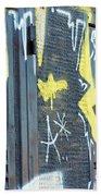Bulgarian Graffiti Beach Towel