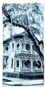Bull Street House Savannah Ga Beach Towel