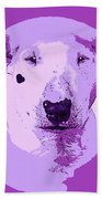 Bull Terrier Graphic 5 Beach Towel