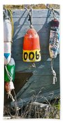Buoy Hang Out Beach Towel