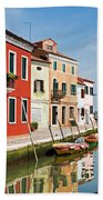 Burano, Venice Beach Towel