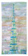 Burj Khalifa - Dubai Beach Towel by Fabrizio Cassetta