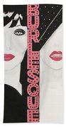 Burlesque Beach Towel