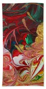 Burning Into The Darkness Beach Towel