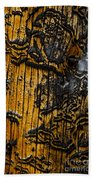 Burnt Beetle Maze  #9991 Beach Towel