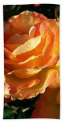 Burnt Rose Beach Towel