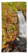 Bushkill Falls Pa Beach Towel