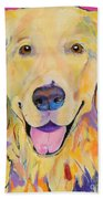 Buster Beach Towel by Pat Saunders-White