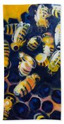 Busy Bees Beach Towel