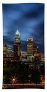 Busy Charlotte Night Beach Towel