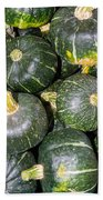 Buttercup Winter Squash On Display Beach Towel