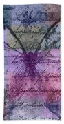 Butterfly Art - Ab25a Beach Towel