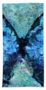 Butterfly Art - D11bl02t1c Beach Towel