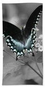 Butterfly Art Beach Towel