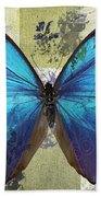 Butterfly Art - S01bfr02 Beach Towel by Variance Collections