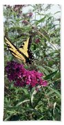 Butterfly Bush Beach Towel