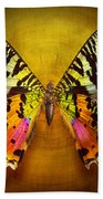 Butterfly - Butterfly Of Happiness  Beach Towel