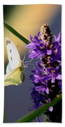 Butterfly - Cabbage White Beach Towel