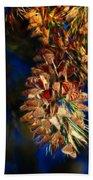 Butterfly Cluster Fractal Beach Towel