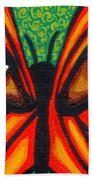 Butterfly Eyes Beach Towel