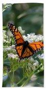 Butterfly Garden - Monarchs 09 Beach Towel