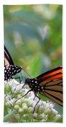Butterfly Garden - Monarchs 17 Beach Towel