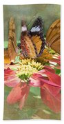 Butterfly Gathering Beach Towel