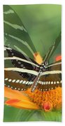 Butterfly In Motion #1967 Beach Towel