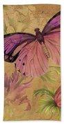 Butterfly Inspirations-d Beach Towel