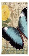 Butterfly Kisses-a Beach Towel